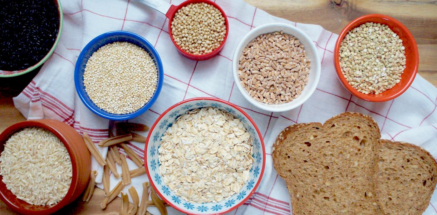 Assorted whole grains - dry