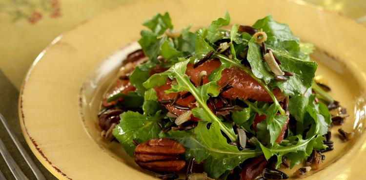 Wild Rice Arugula Salad