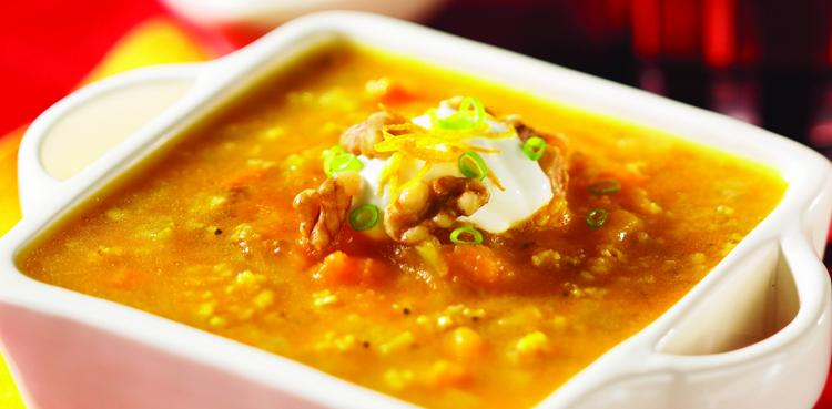Curried Millet Soup