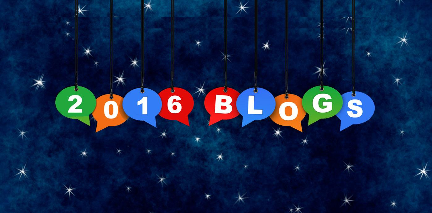 Favorite 2016 Blogs