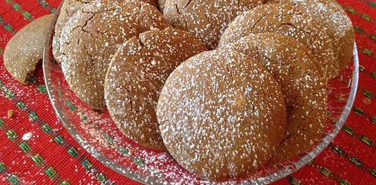 Molasses Sorghum Cookies