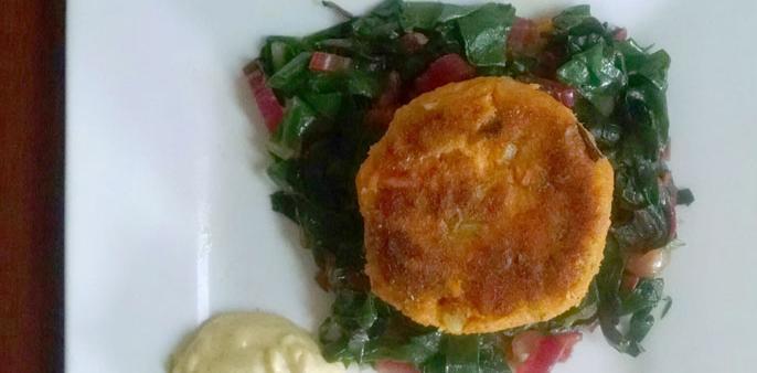 Sweet Potato Salmon Patties