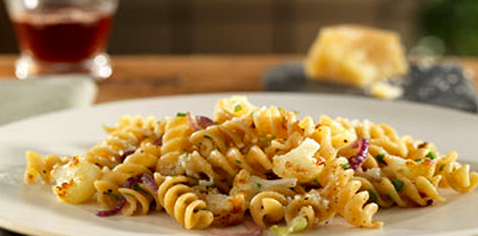 Rotini with Cauliflower