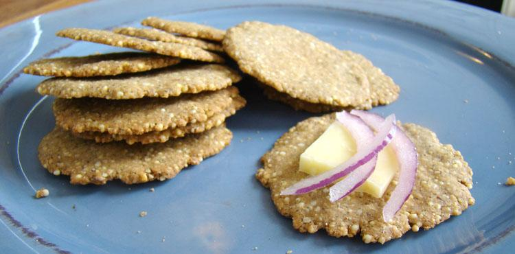 Sesame-Millet Crackers