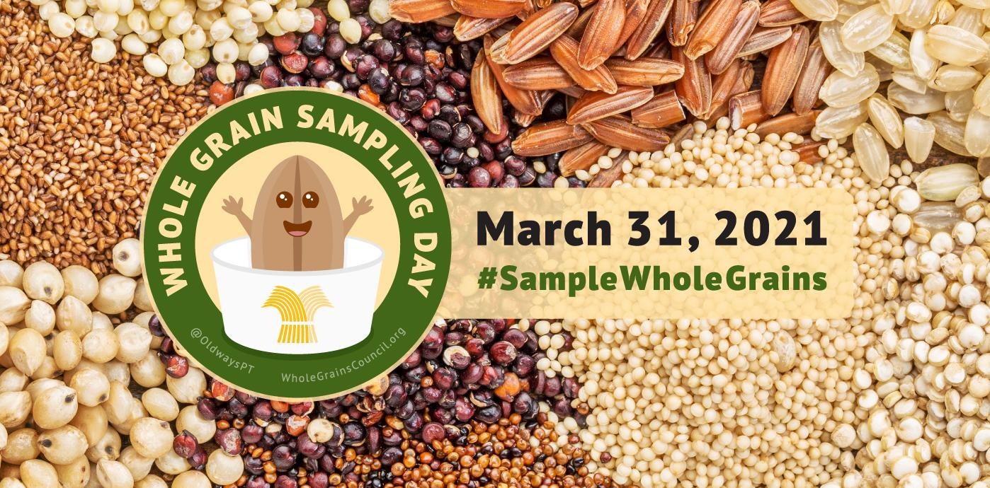 Whole Grain Sampling Day Banner
