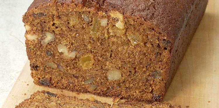 Whole Wheat Zucchini Nut Bread