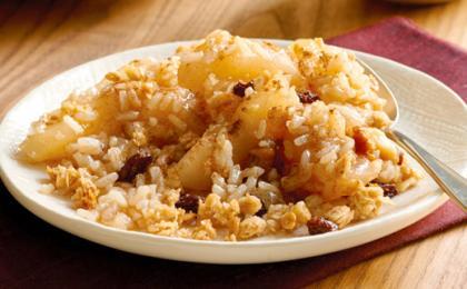 Brown Rice Apple Crisp