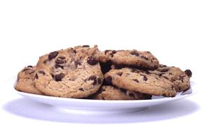 Barley Chocolate Chip and Walnut Cookies