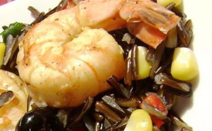 Shrimp Wild Rice Salad