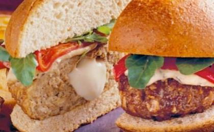Stuffed Turkey Burgers