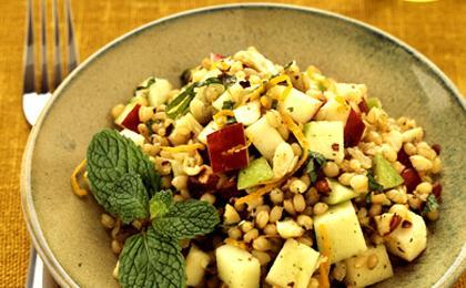 Wheatberry Mint Salad
