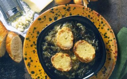 Wild Rice and Onion Soup