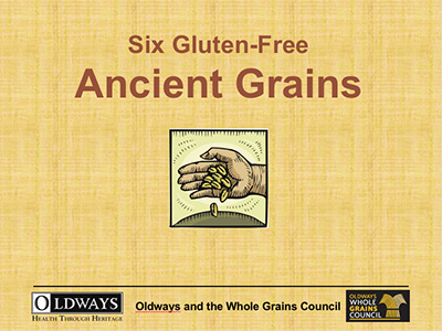 Six Ancient Grains graphic