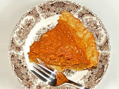 Best Pumpkin Pie Ever