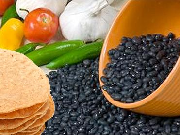 Black Bean Tortillas