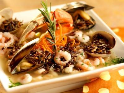 California Wild Rice Seafood Stew