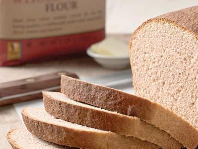 Classic 100% whole wheat bread