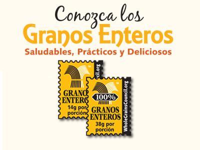 Conozca los Granos Enteros (Spanish Stamps)