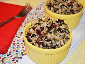 Apple-Sage Wild Rice Stuffing