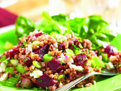 Kasha Beet Salad