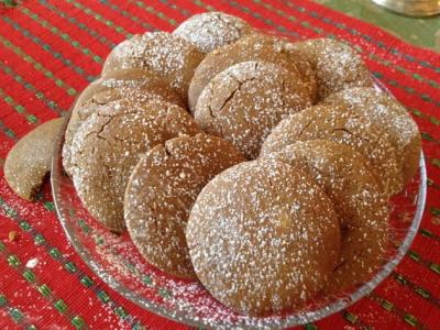 Sorghum Molasses Cookies