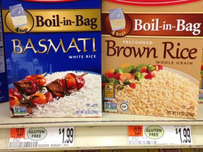 Compare two rices