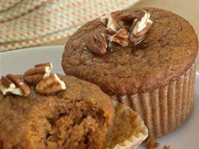 Buckwheat Pumpkin Muffins