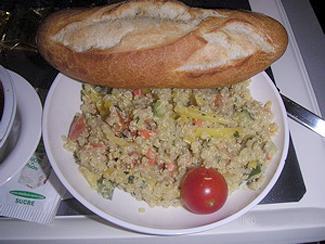 Quinoa on air france