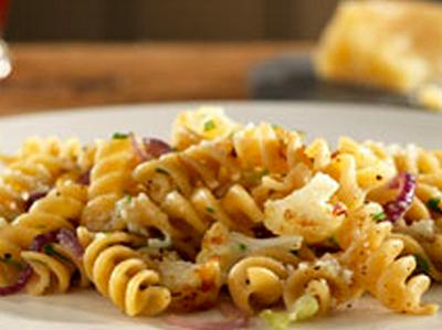 Rotini with Cauliflower