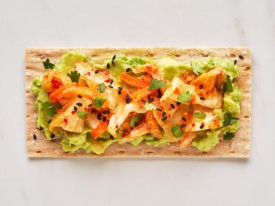 Sesame and Kimchi Cracker