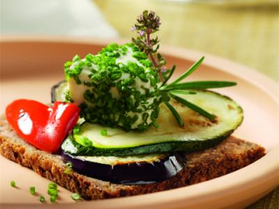 Veggie and Chive Appetizer