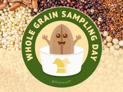 Whole Grain Sampling Day Character 2020