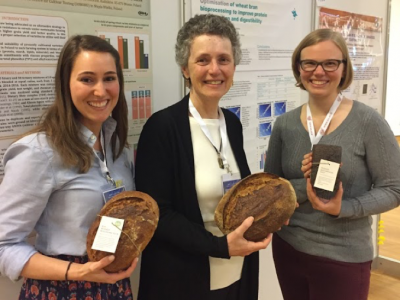WGC staff at the Whole Grain Summit in Vienna