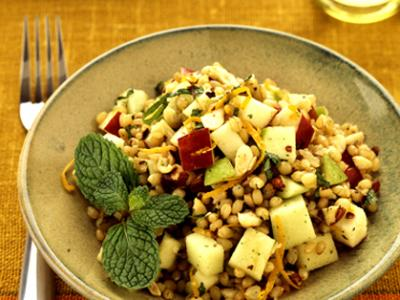 Wheatberry Mint Salad
