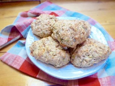 Whole Wheat Cheddar Scones