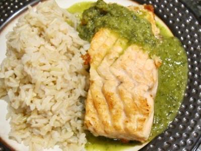Thai Green Curry Salmon