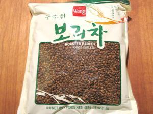 A bag of Barley Tea