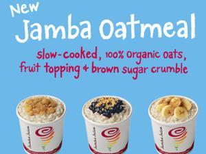 Jamba Juice now serves oatmeal