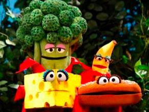 Sesame Street Superfoods Muppets