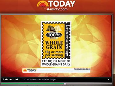 The Stamp on the Today Show!