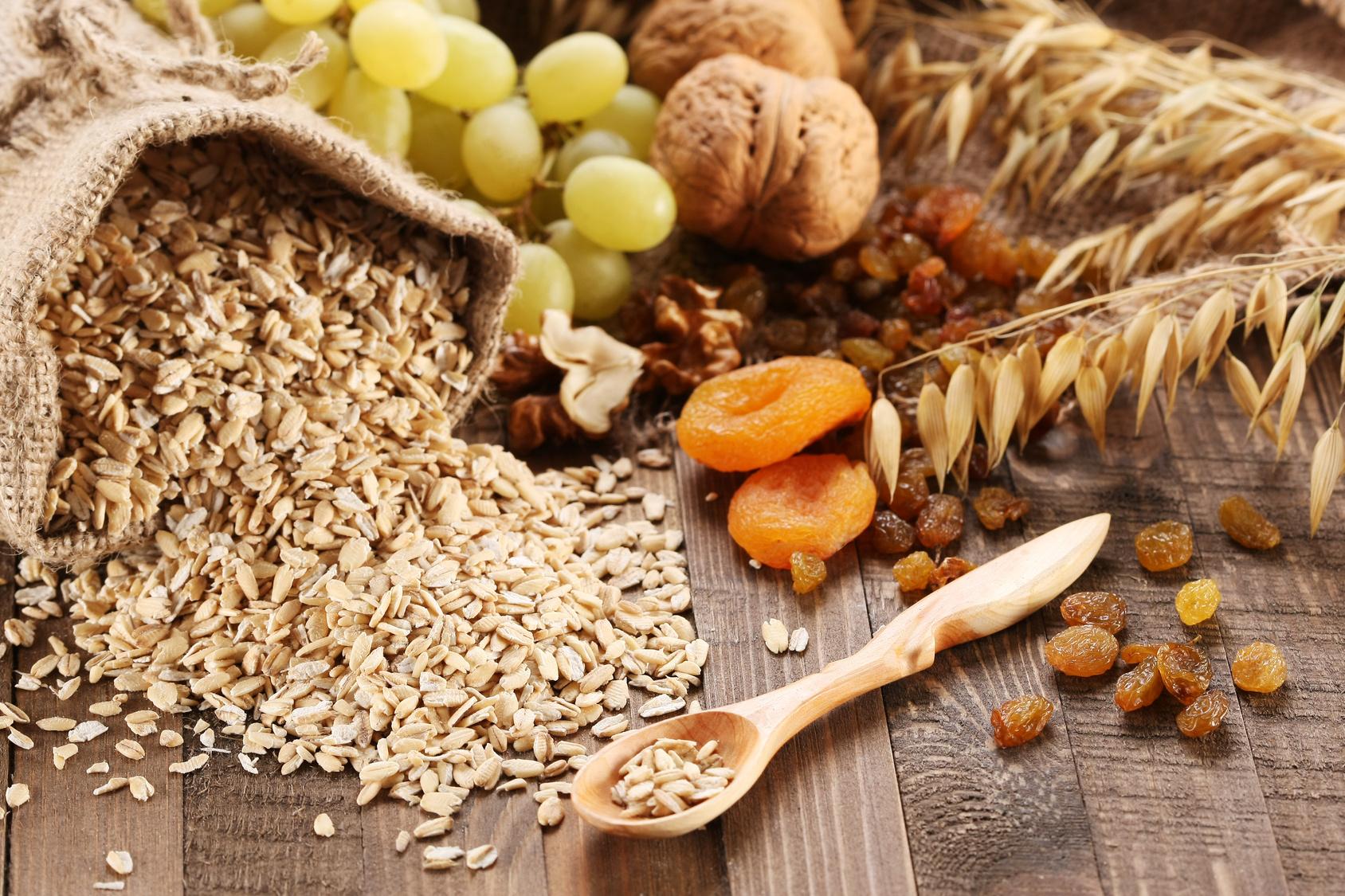 Delicious whole grain oats