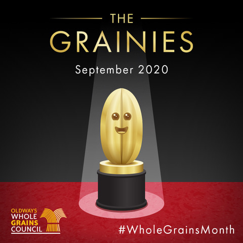 Whole Grains Month logo