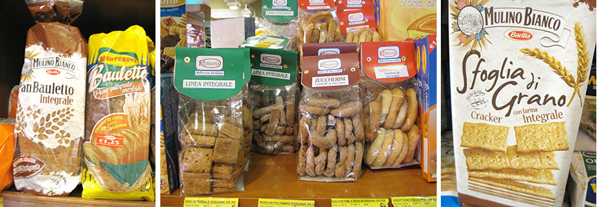 Italian Whole Grain Products in Rome 2009