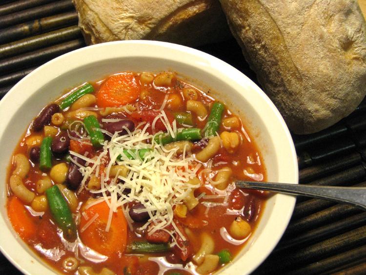 Kamut Minestrone Soup