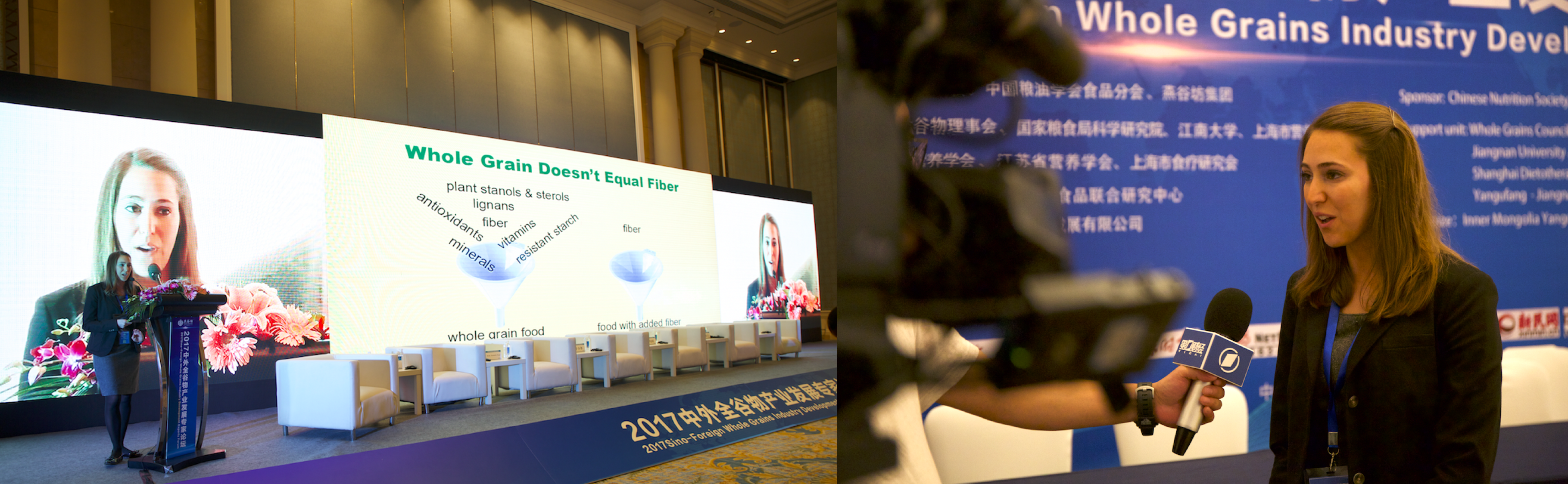 Whole Grains Council presentation in Shanghai, China