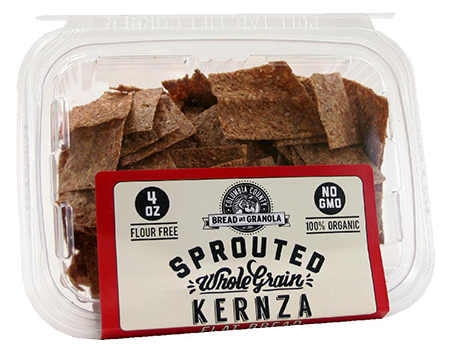 Sprouted Kernza Flat Bread