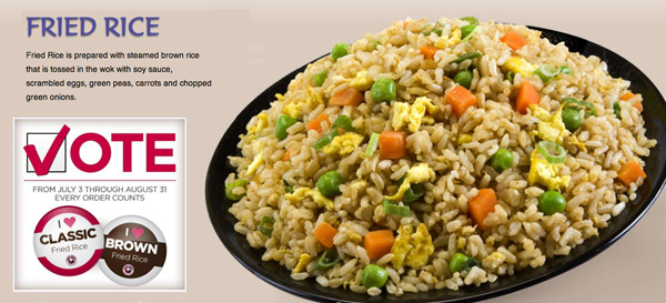 Brown rice winning 2 to 1 the whole grains council pandabrownricedishg ccuart Images