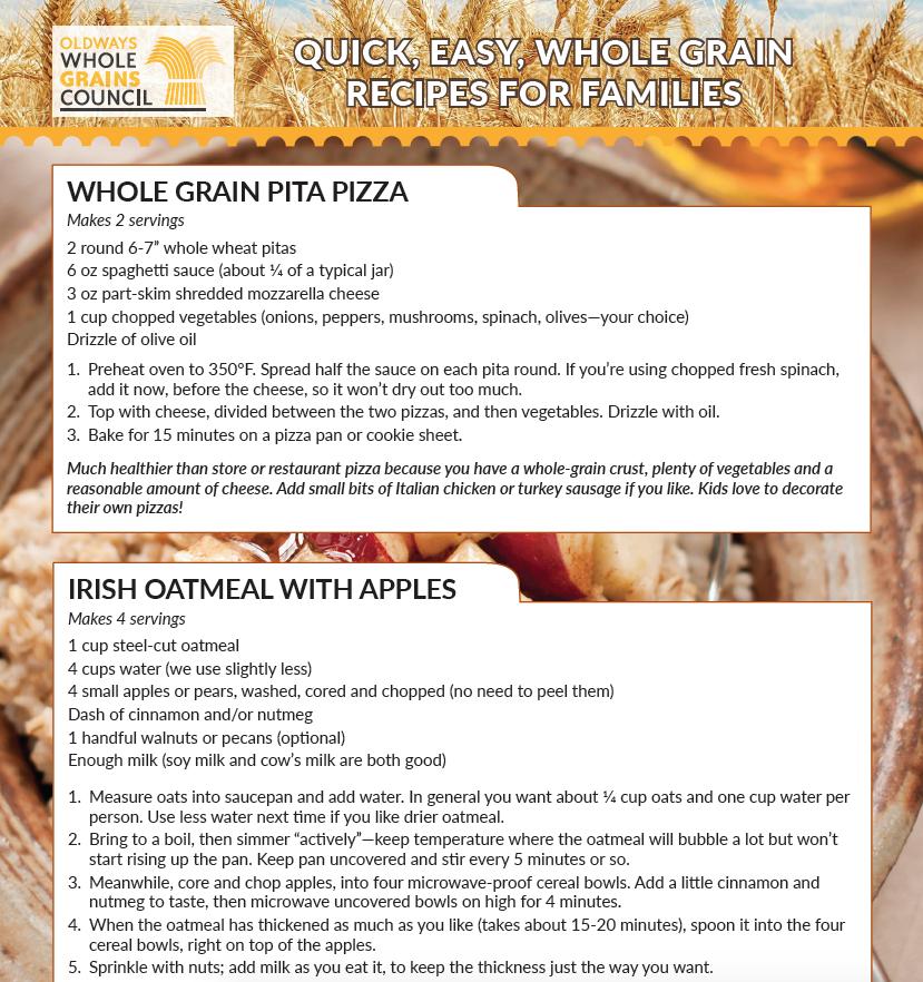 easy whole grain recipes