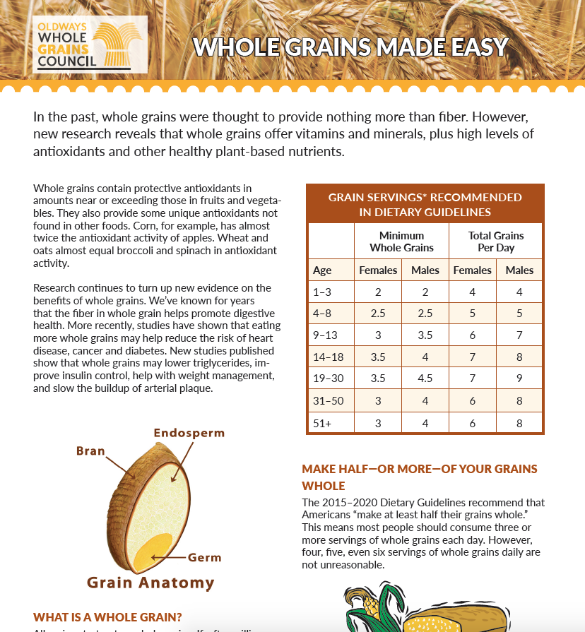 whole grains made easy