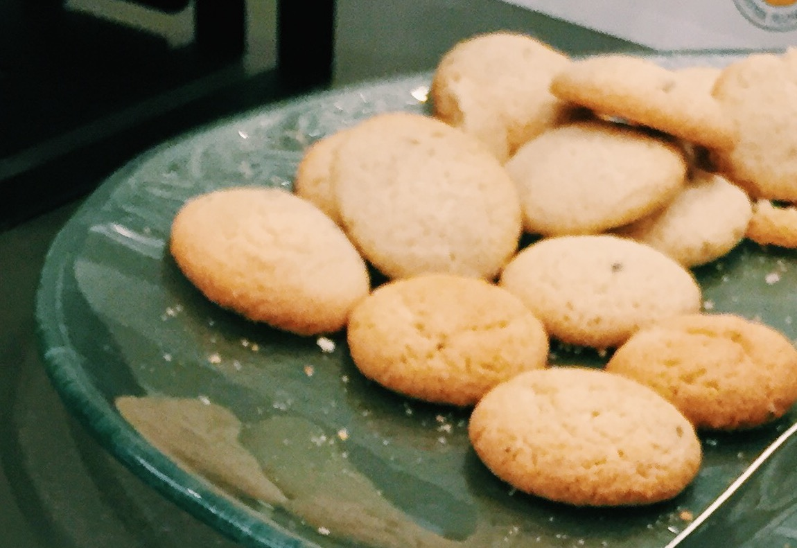 Sprouted Lemon Lavender Cookies